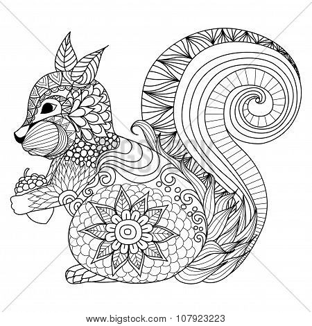 Squirrel Coloring