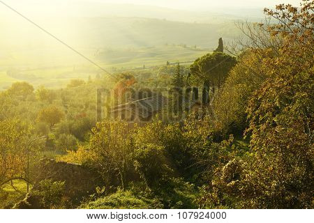 View from Pienza wall