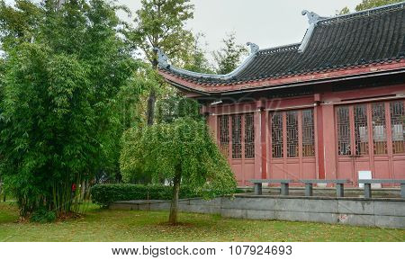 Oriental Garden And The House