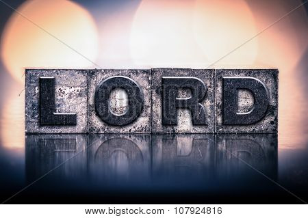 Lord Concept Vintage Letterpress Type