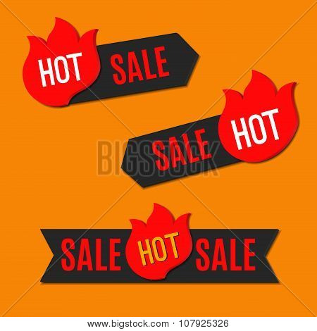 Hot Sale Stickers. Set