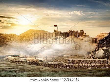 Island of pharaohs in Taba