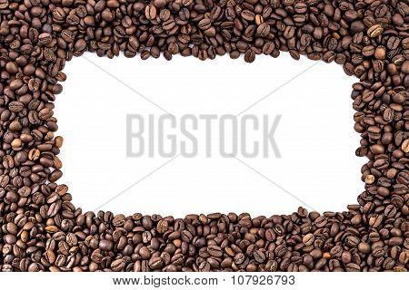 Black coffee frame