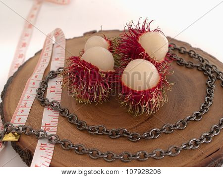 Rambutan, A Fruit To Lose Weight.