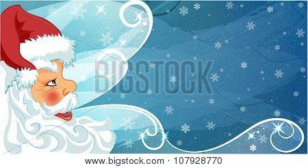 Merry Santa Claus Frame