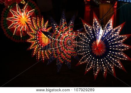 Star Shaped Lanterns