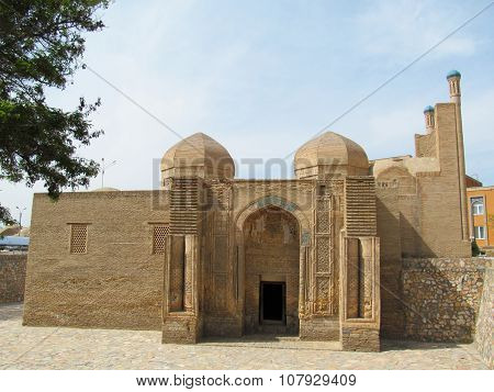 Ancient mosque in Bukhara, Uzbekistan