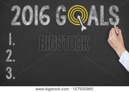 2016 Goals on Blackboard