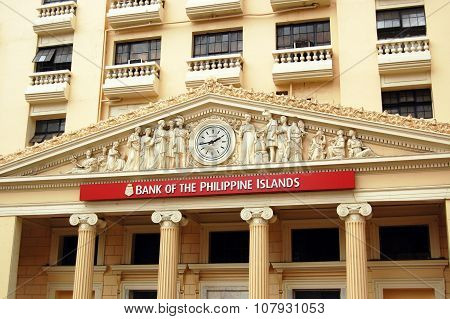 Bank of the Philippines branch in Escolta, Manila