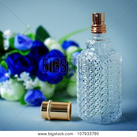 Women's Perfume And Flowers