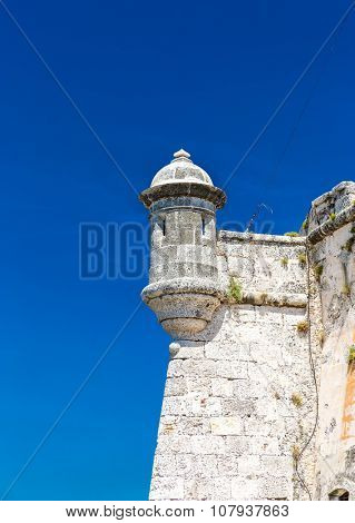 The fortress of El Morro in Havana, Cuba