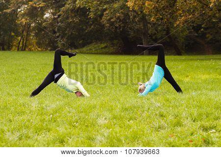Yoga-Adho Mukha Svanasana /Downward-facing dog pose