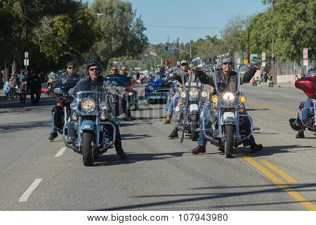 Veterans On The Motorcycles