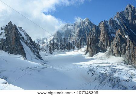 Glacier and Peaks