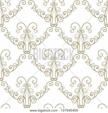 Curly Seamless Pattern