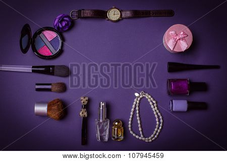 Modern Female Clothing And Accessories