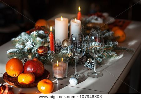 Decorating Celebratory Table