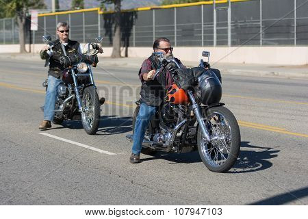 American Veterans On The Motorcycles