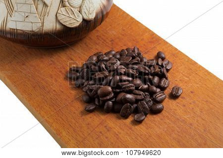 Coffee Turk On White Background