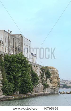 Old Houses In Otranto, South Italy
