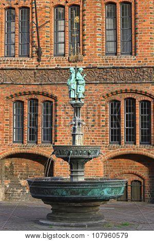 Marktkirche Fountain Hannover
