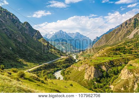 Mountain valley (Nothern Caucasus)