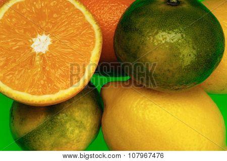 Citrus: Lemon, Orange, Mandarin