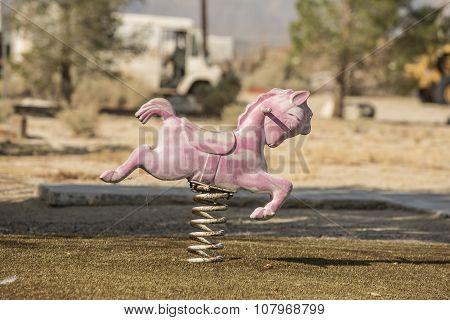 Abandoned Toy Horse