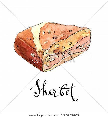 Piece Of Arabic Sherbet
