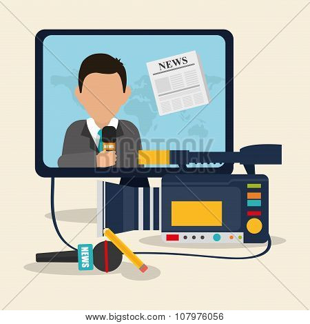 News media and broadcasting