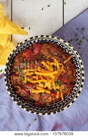 Mexican chilli meal