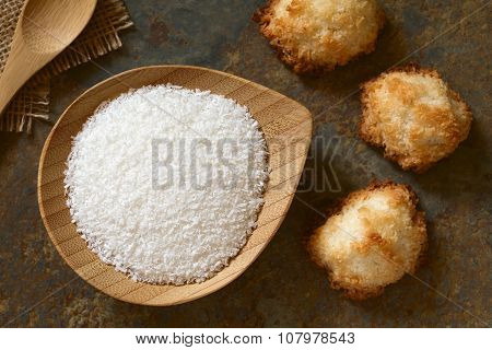Grated Coconut and Coconut Macaroons