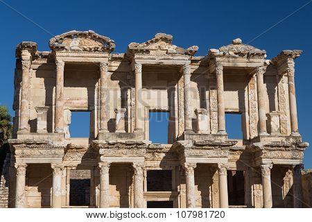 Library Of Celsus In Ephesus