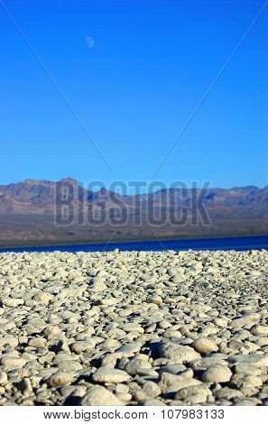 White Rocks, Lake Mohave Shoreline, Searchlight, Nevada, USA