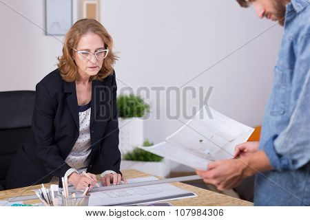 Self-employed Woman Leading Business