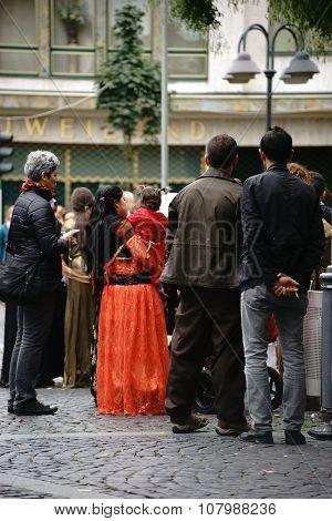 Kurdish women's costume