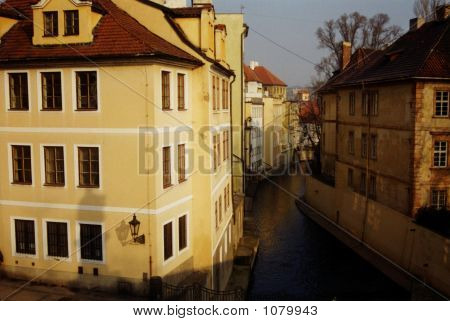 Stock Photo Of Prague, Canals Ii