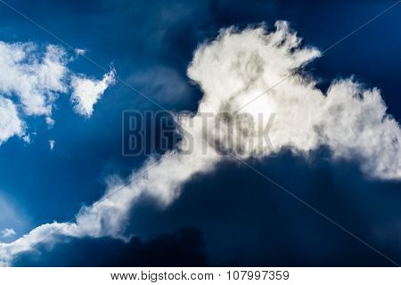 Backlit Cloud