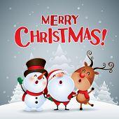 Merry Christmas! Happy Christmas companions. poster