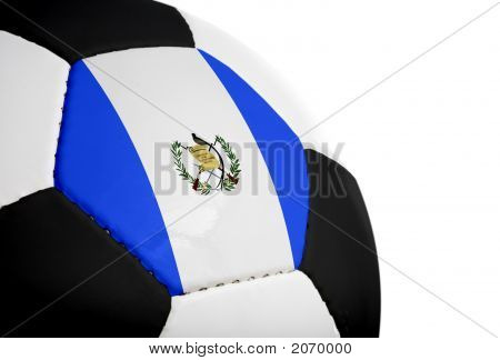 Guatemalan Flag - Football