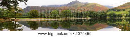 Autumn Reflections Panorama