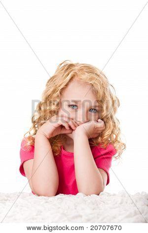 Cute Goldilocks Girl