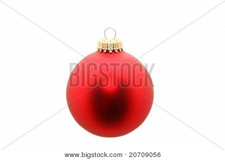 Red Ornament Isolated