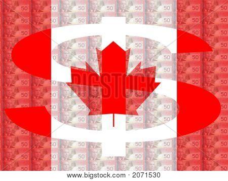 Canadian Dollar Sign