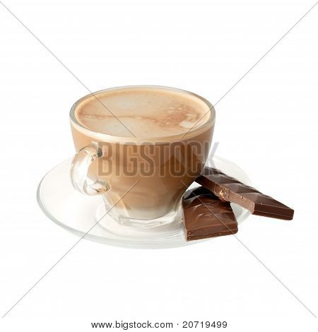 Isoliert Tasse Kaffee