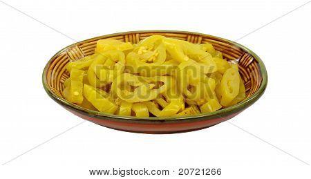 Mild Yellow Chili Peppers