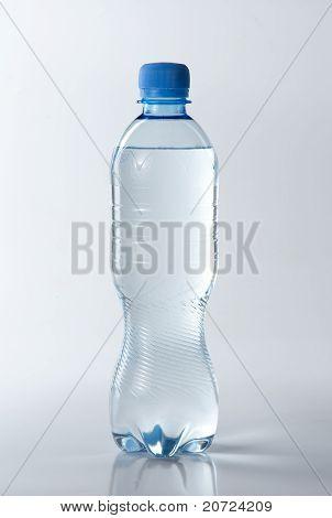 Resh Clear Water In Plastic Bottle