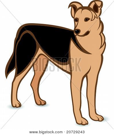 Realistic German Shepherd