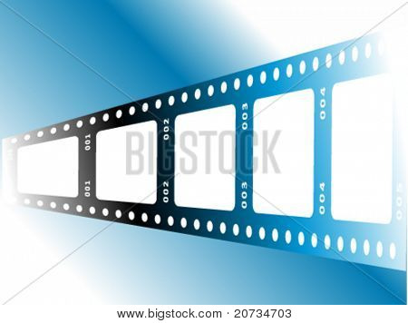 vector illustration with film and photo concept