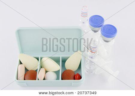 set of mecicines